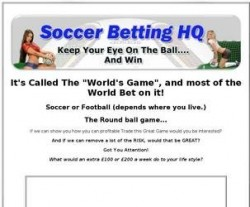 Soccer Betting HQ по-русски. 5 торговых стратегий для футбола